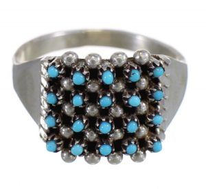 zuni-silver-turquoise-rings